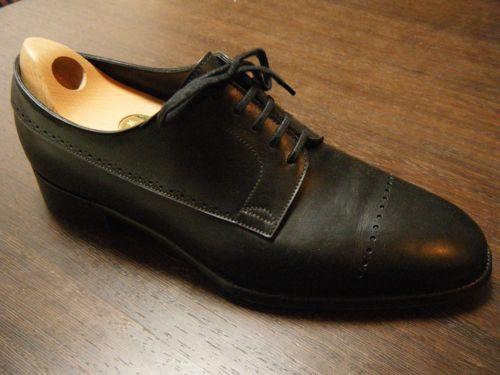 ジョンロブの靴磨きを紹介します。 Before. DSCF2047