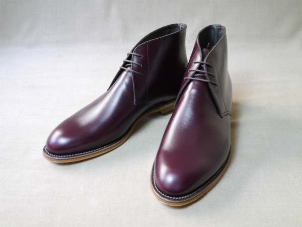 12.Chukka boots_Smooth_BGD正面