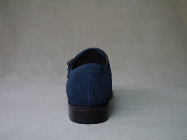 11.Cap double monks_Suede_NVY後
