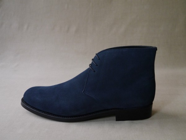 12.Chukka boots_Suede_NVY横