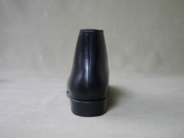 12.Chukka boots_Smooth_BLK後