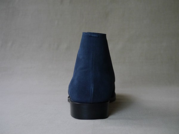 12.Chukka boots_Suede_NVY後