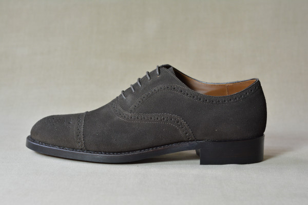 4.Semi brogue oxfords_Suede_DBR横