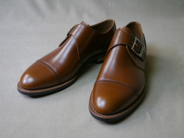 10.Cap brogue single monks_Smooth_MBR正面