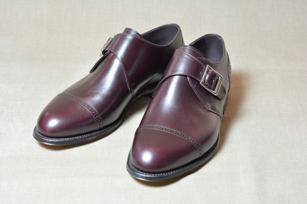 10.Cap brogue single monks_Smooth_BGD正面