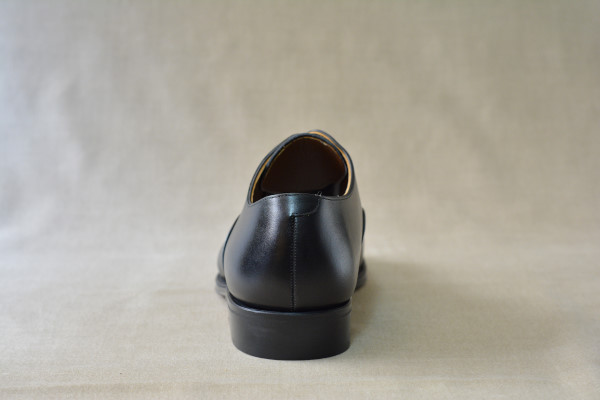 1.Plain oxfords_Smooth_BLK後
